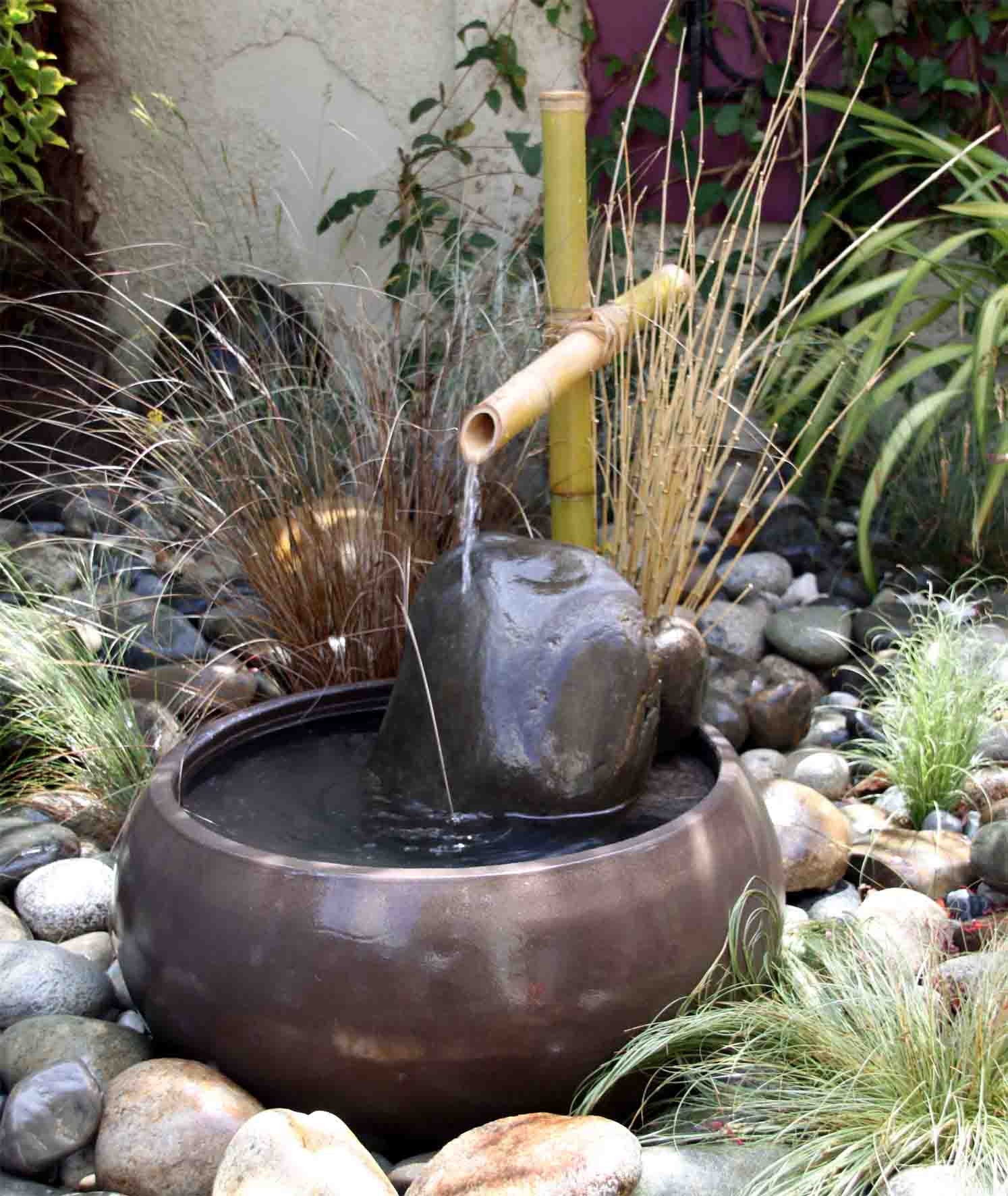 Galerie photo i for Fontaine zen de jardin