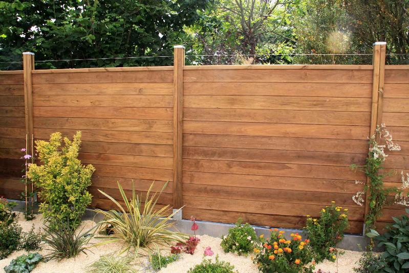 Galerie photo i - Palissade en bois pour jardin ...